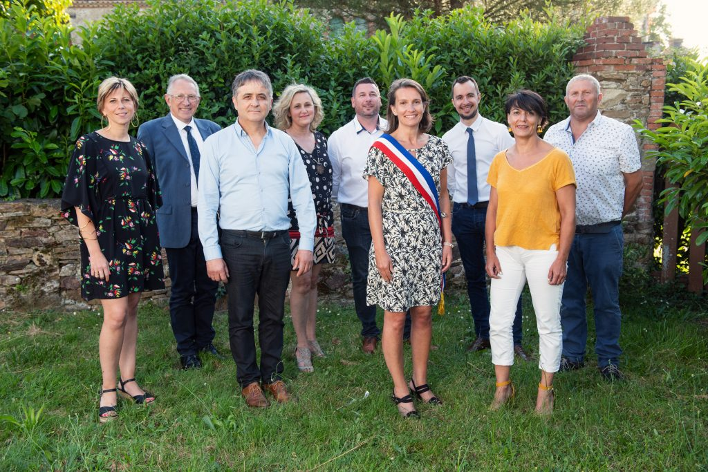 Portrait elus mairie saint mars du desert election Lensman groupe