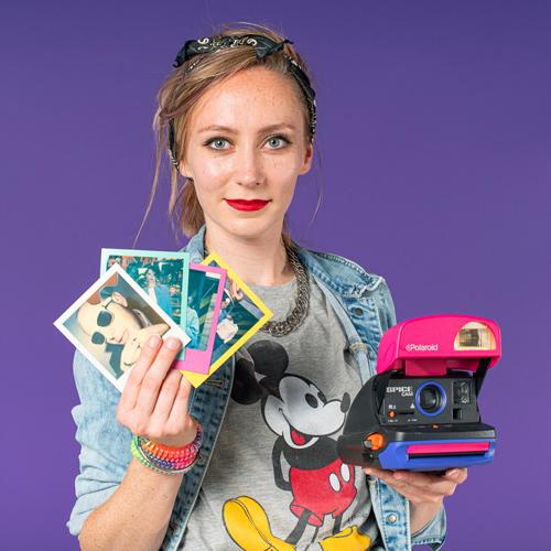 Animatrice photo Polaroid