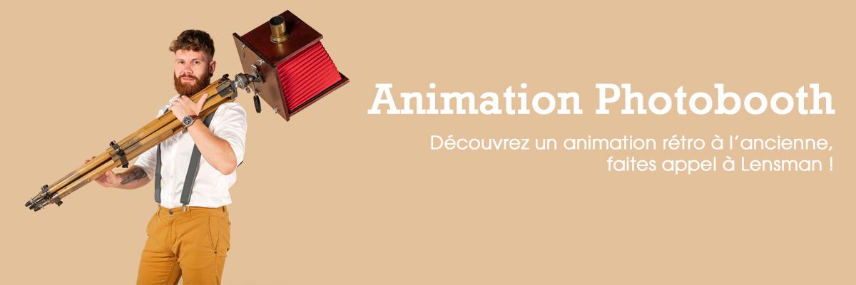 Animation photobooth événementiel