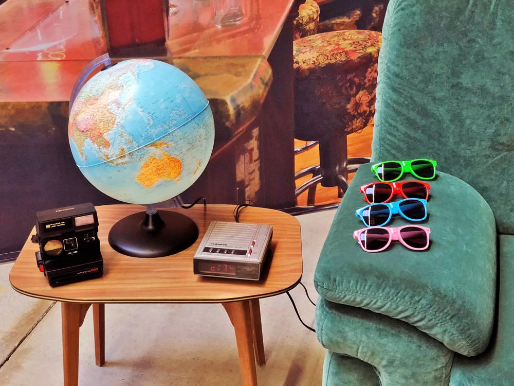 Accessoires photocall sur le thème de Friends