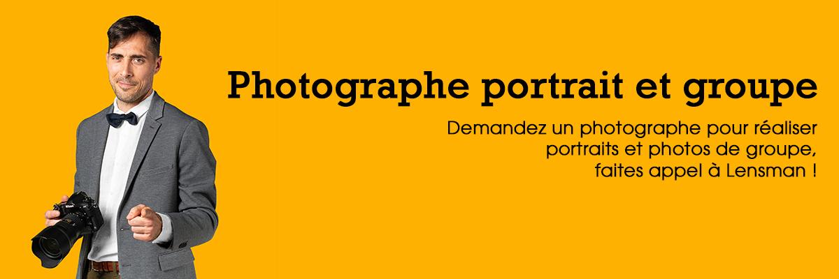 Photographe portrait et groupe
