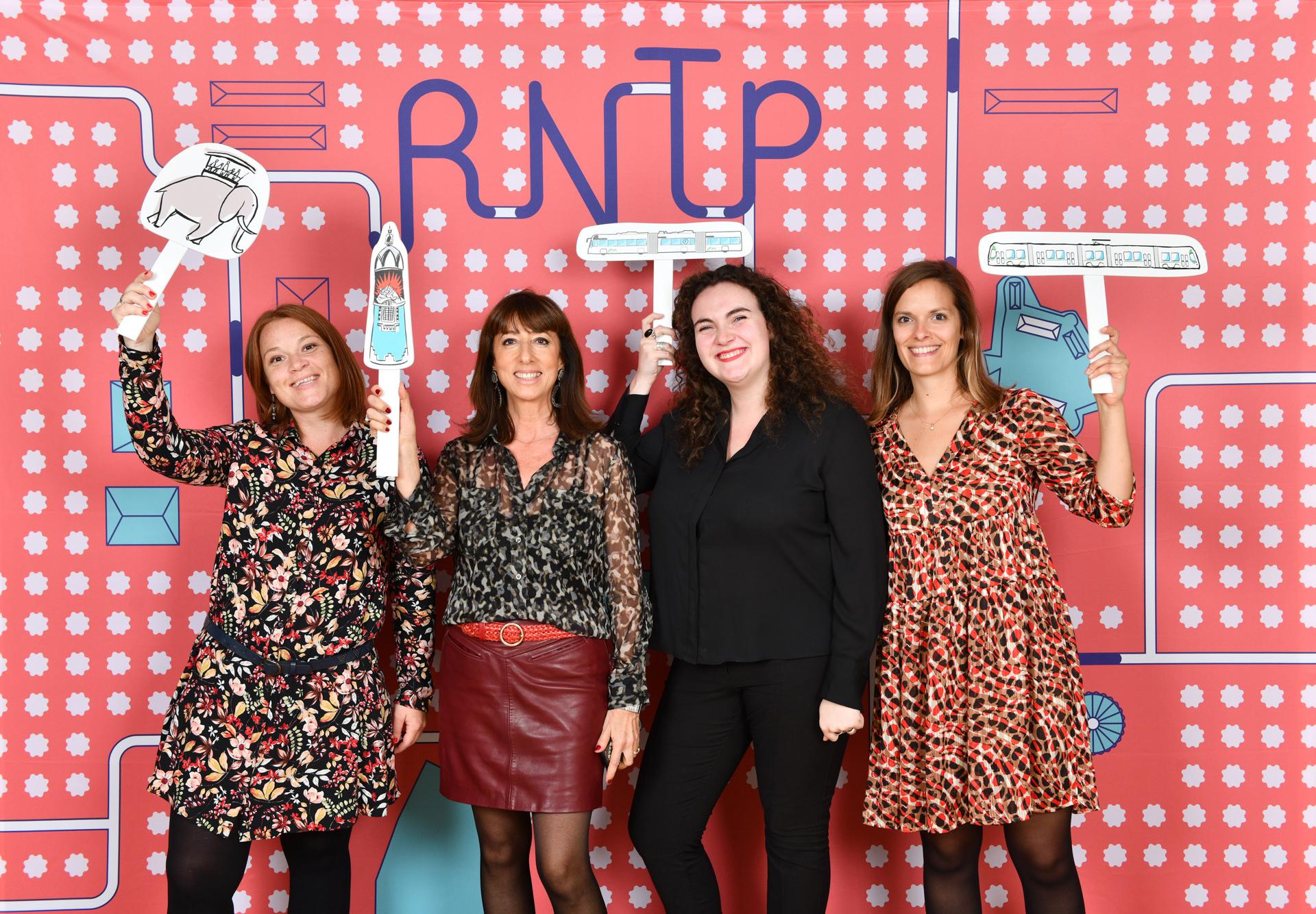 Animation photocall Rntp Salons Mauduit Nantes Lensman