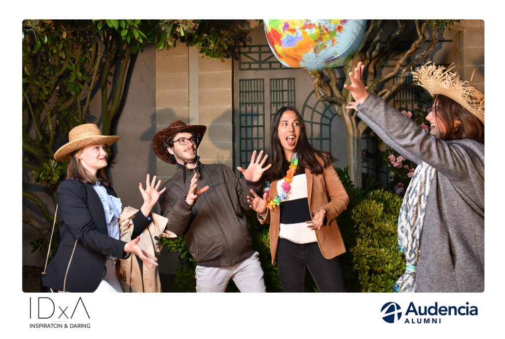 Photocall Audencia Alumni Hotel de horticulture Nantes Lensman