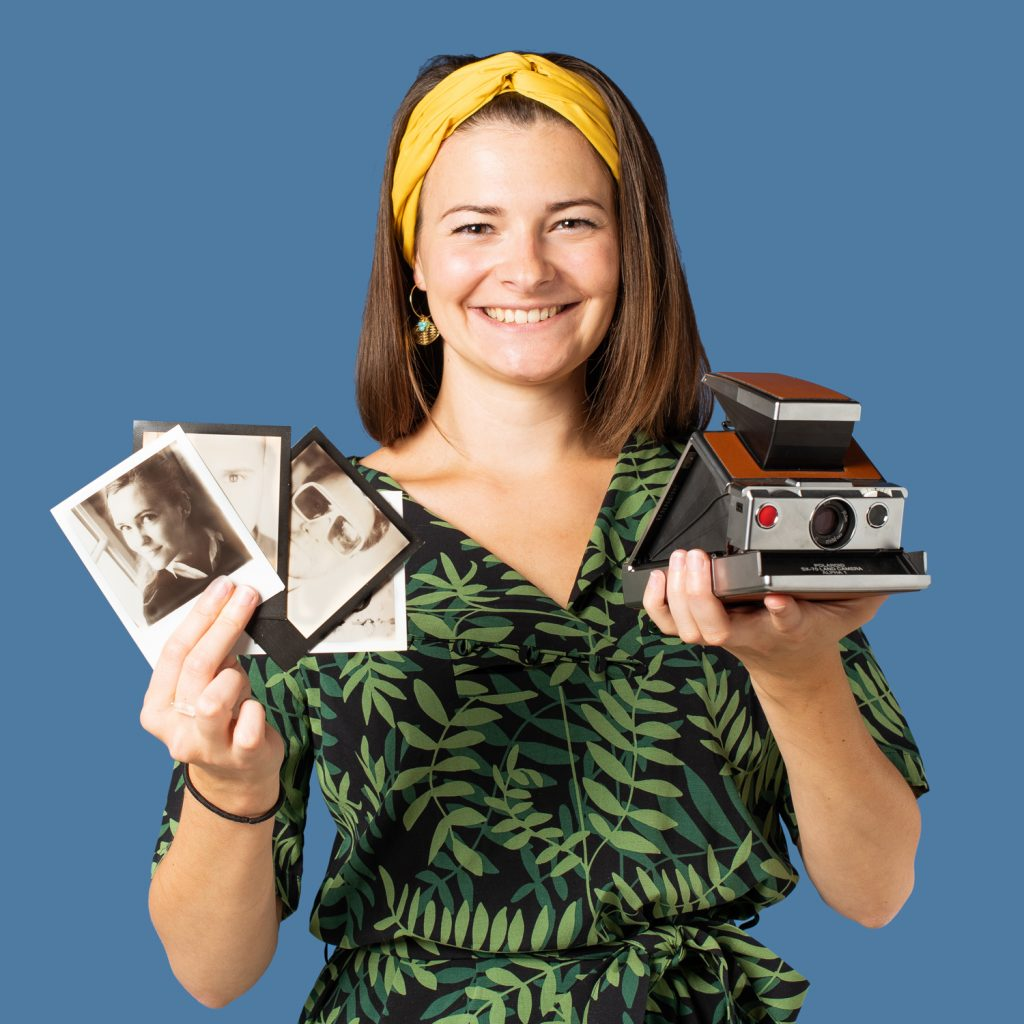 Photographe Polaroid Vintage Lensman Lensgirl