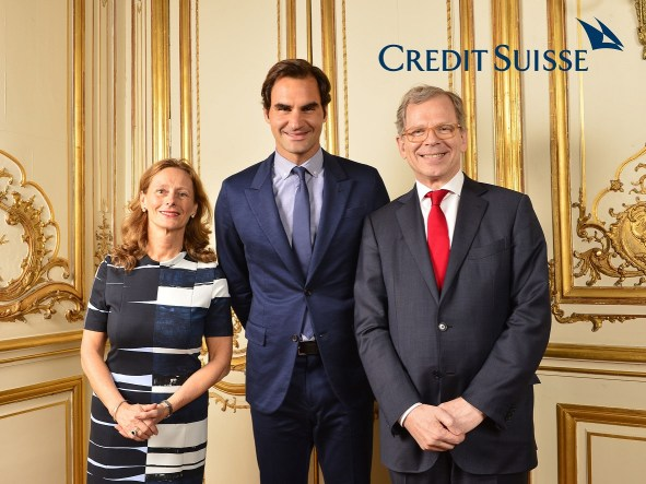 Animation Photocall Ambassade Suisse Roger Federer Paris Lensman