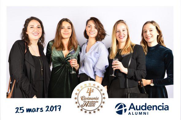 Animation Photocall Audencia Alumni Remise de Prix Trianon Paris Lensman