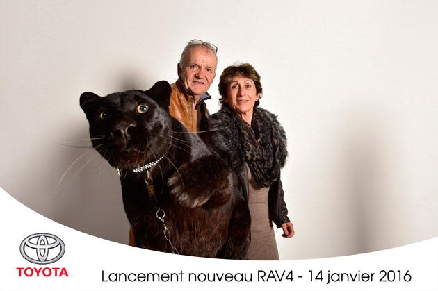 Photocall Lancement Toyota Rav Lensman