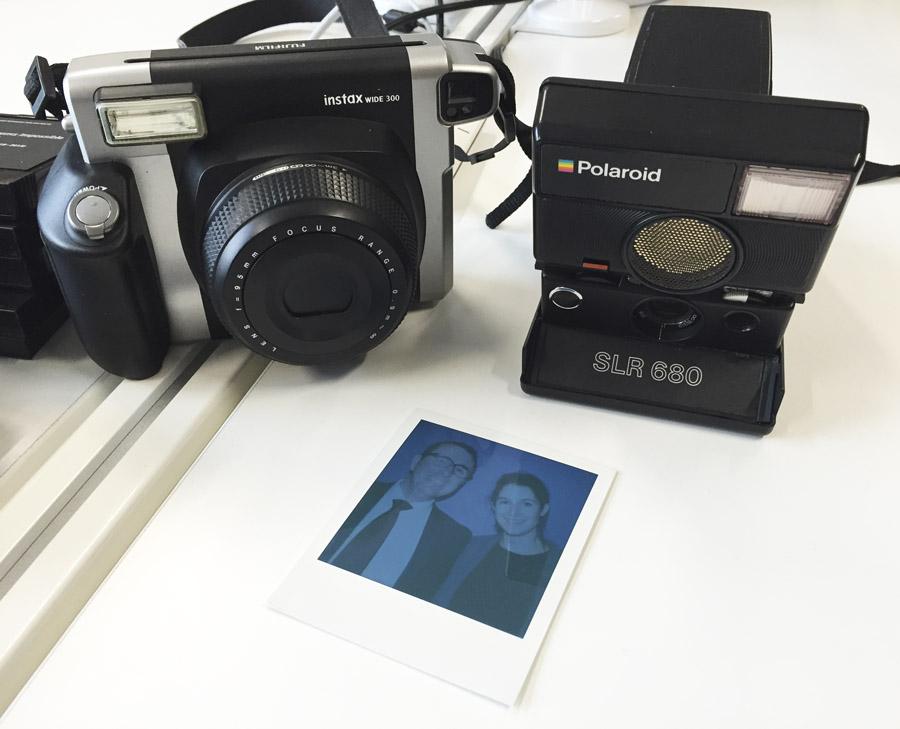 Trombinoscope Animation Polaroid Sanofi Lensman