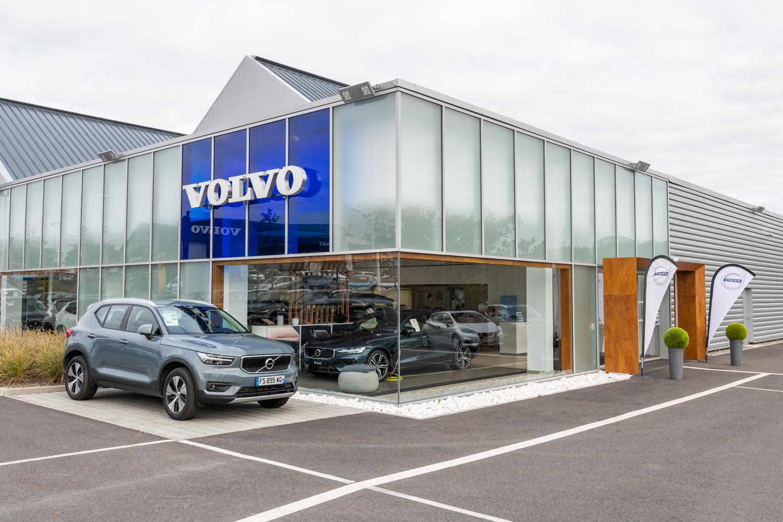 reportage photo concessionnaire automobile Volvo Lensman
