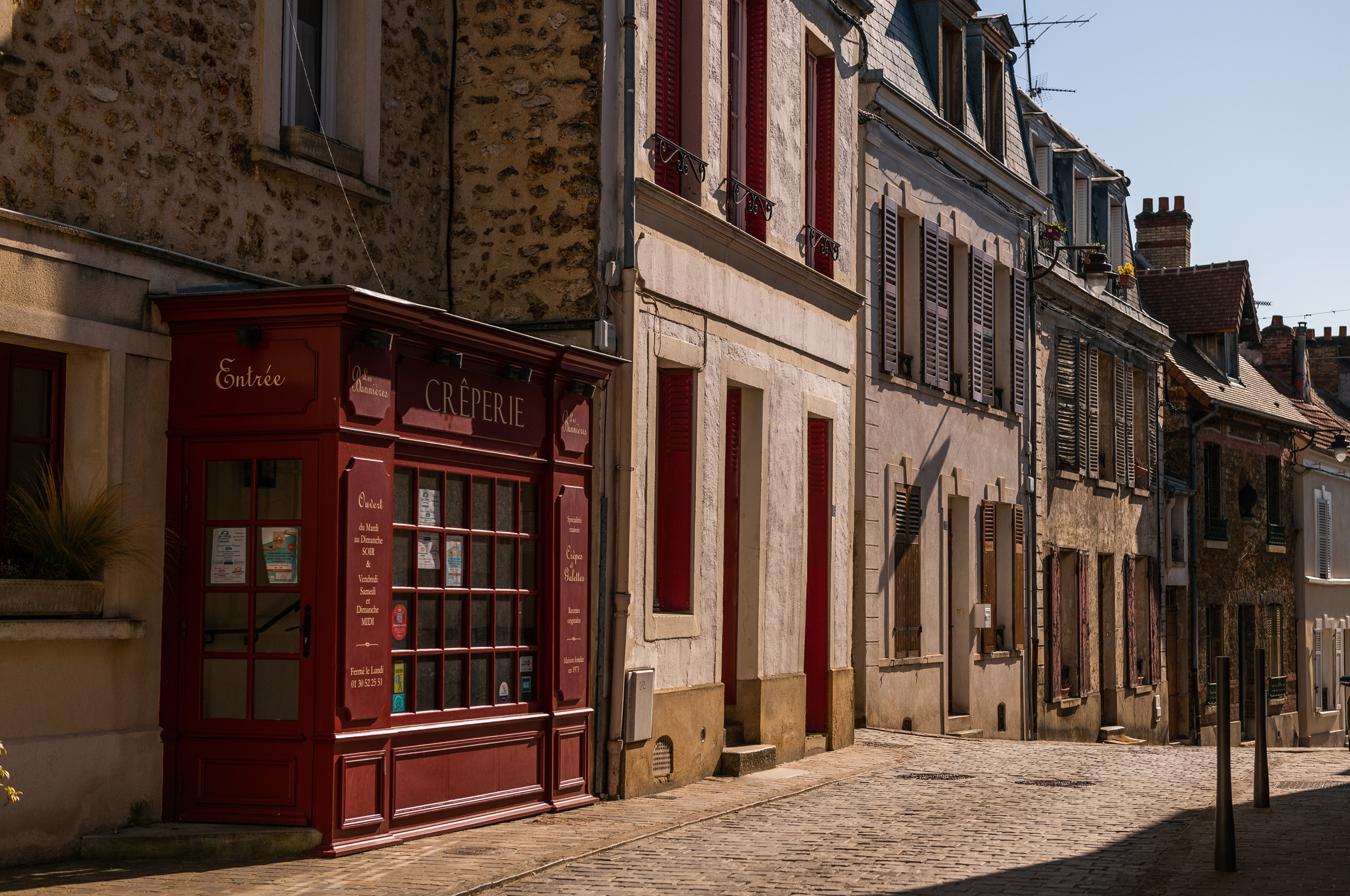 Reportage photo Vallée de Chevreuse rue